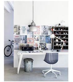 Fancy home office
