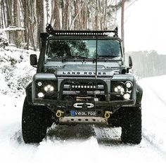 "5,662 Likes, 36 Comments - LAND ROVER (@land_rover_defender) on Instagram: ""Who else is hoping for snow this Christmas? @defender90_orkney #landrover #landroverdefender…"""