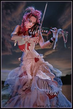 Emilie Autumn - not totally my style - a little overboard on the angst, but other than that, yeah.