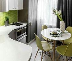 Ох уж эти оливки ! Вкусный ,красивый интерьер маленькой кухни