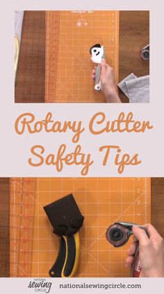 Ellen March demonstrates helpful techniques on how to correctly use a rotary cutter. Learn importance safety tips when using a rotary cutter and find out when you should use this tool. See different varieties of rotary cutters as well as what accessories you can purchase to help organize your cutting area. Diy Sewing Projects, Sewing Tools, Sewing Hacks, Pattern Weights, Fabric Cutter, Sewing Circles, Sewing Scissors, Rotary Cutter, Fashion Project