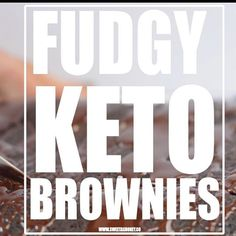 FUDGY KETO BROWNIES g net carb per serve only 😱 . There is 2 kind of brownies in this world, some are heavy and fudgy, some are… Tortilla Chips, Tortilla Recipe, Coconut Flour Chocolate Cake, Sugar Free Chocolate, Almond Flour, Vegan Keto, Vegan Gluten Free, Diabetic Birthday Cakes, Keto Brownies