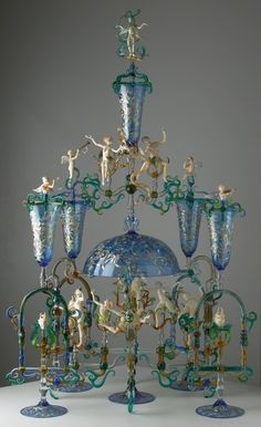 Lucio Bubacco by aline.  That has to be the most over the top epergne ever!