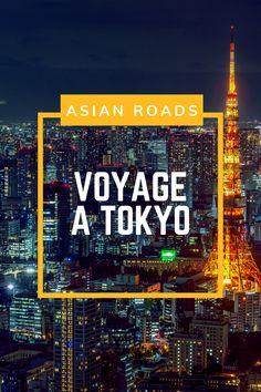 Destination Tokyo ! Découvrez cette capitale vibrante, et tout ce que vous ne devez pas manquer lors de votre futur voyage à Tokyo ! Tokyo, Destinations, Roads, Times Square, Travel, Future, Viajes, Road Routes, Tokyo Japan