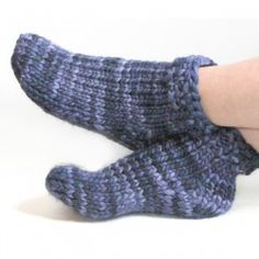 Super bulky sock pattern, quick gift knit, free