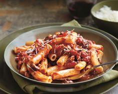 Pasta with Abruzzi-Style Lamb Sauce