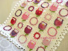 Owl Blanket Crochet Pattern Fantasy Newborn Baby Colorful Kids Baby Gift Idea DIY PDF Nursery Decoration Baby Shower Download Immediately
