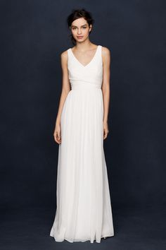 J Crew Wedding Dress That Is Beautiful And Doesnt Break The Bank