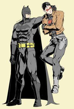 Batman & Red Hood (Jason Todd)