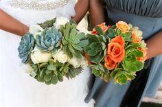 Succulent Wedding Bouquets &Accessories - Weddings