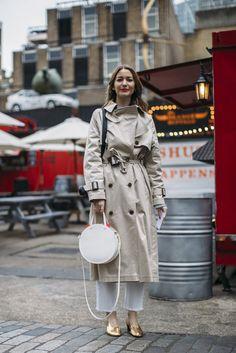 Best Street Style London Fashion Week Fall 2017 | POPSUGAR Fashion