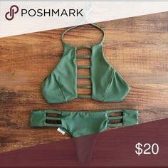 Bikini Set Brand new bikini set! Size medium. Swim Bikinis