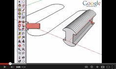 Sketchup Follow Me Tool Tutorial http://www.youtube.com/watch?v=GOxrFN7JbiQ