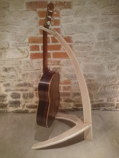Handcrafted Flat-pack Plywood Guitar Stand by ArthurGuitars