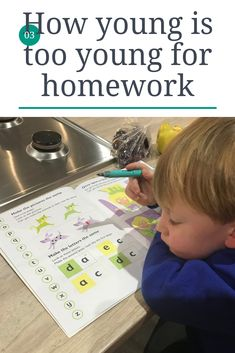 How young is too young for homework? do you believe children should be getting homework and if so how much should they be getting. my son was 3 when got his first piece of homework Family Days Out, Family Life, Parenting Advice, Kids And Parenting, Dad Blogs, North East England, Oldest Child, Homework, About Uk
