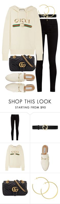 """""""Untitled #2468"""" by mariie00h ❤ liked on Polyvore featuring Gucci and Steve Madden"""
