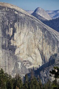 North face of Half Dome, Yosemite
