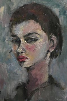 """""""A FIRST GLANCE"""" by Hiromi Andrew. Paintings for Sale. Bluethumb - Online Art Gallery"""