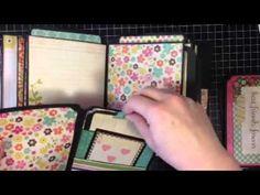 Mini album flip through - Kathy Orta envelope mini Fabulous Girl