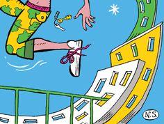 """""""UM ESTRANHO ENIGMA"""" :: O FOLHETIM DE VERÃO ARRANCA À MEIA-NOITE!  É já esta madrugada que, com espetaculares ilustrações de Nuno Saraiva, se inicia o Folhetim de Verão do CNC «Um Estranho Enigma».   Mantenha-se atento! Link: http://www.cnc.pt/artigo/3615"""