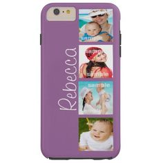 Custom Photo Collage Customizable Tough iPhone 6 Plus Case http://www.zazzle.com/custom_photo_collage_customizable_case-256882399089279868?rf=238955018851999137