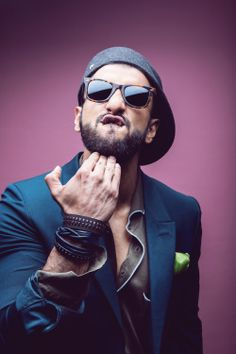 Termed as 'That Funny Guy' by Man's World, Ranveer Singh graces the cover of the magazine's anniversary issue. Ranveer, who looks hot and handsome o. Bollywood Stars, Bollywood Fashion, Portrait Photography Men, Actor Picture, Boy Poses, Ranveer Singh, New Gossip, Best Couple, Man Humor
