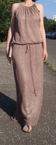Девочки, доброго дня! Хочу связать подобное платье по колено , но на осень, верхнюю часть еще не продумала, но , конечно, будут рукава. Интересует ваше мнение по ниткам и все-таки какой расчет делат …