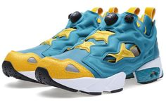 Reebok Insta Pump Fury | Teal Gem & Nuclear Yellow