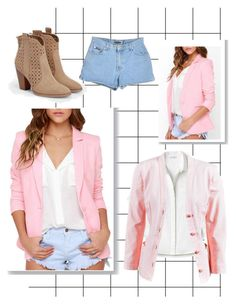Pink💞 by guillerminacas on Polyvore featuring polyvore fashion style Lacoste Chanel JustFab clothing