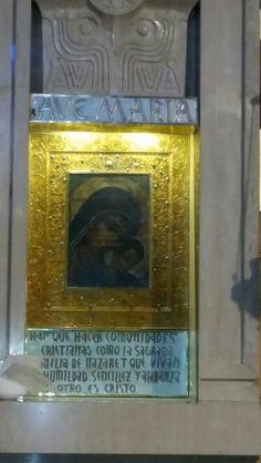 Icono original de la virgen del camino