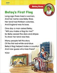 Betsy Ross: Famous American of the Month