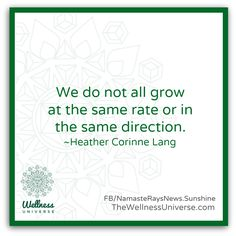 Enjoy The Wellness Universe Quote of the Day by Heather and find more inspiration on her page. Here is her expanded thought…