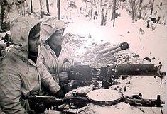 The Finnish Maxim Machine Guns T 62, Night Shadow, Navy Air Force, Ww2 History, Ww2 Photos, War Photography, Red Army, World War Two, Wwii