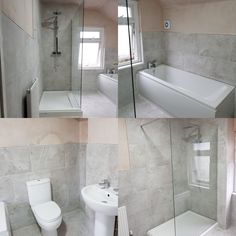 RM Heating & Plumbing Limited  A new bathroom and walk-in shower. installation completed in cardiff Give us a call today to book a quotation Office: 02921690044 Visit our website at www.rmheatingandplumbing.co.uk