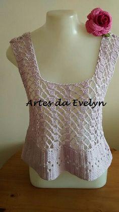 Cropped lilás - detalhes em www.elo7.com.br/lojas/artesdaevelyn