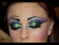 witch eye makeup idea
