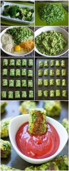 HEALTHY BAKED BROCCOLI TOTS | Foodiboum