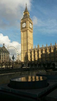 Big Ben and London Eye London