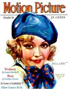 Star Magazine, Movie Magazine, Magazine Art, List Of Magazines, Vintage Magazines, Alice White, Sound Film, Picture Movie, Silent Film