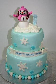 ... Winter treats on Pinterest | Winter cakes, Christmas birthday cake and
