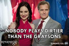 #Revenge - #ConradGrayson #VictoriaGrayson