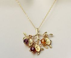 family tree necklace - Google Search