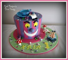 Mad Hatter's Tea Party by Designer Cakes by Deb, via Flickr