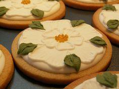 Yorkshire rose cookies