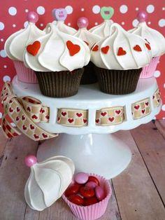 Imitação de mini cupcake