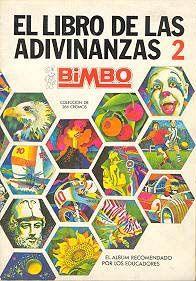 Álbum de cromos de El Libro de las Adivinanzas número 2 de Bimbo