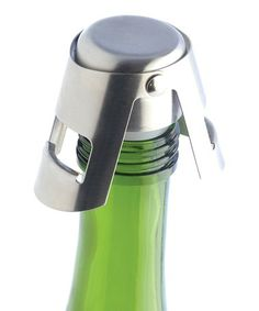 Loving this Champagne Bottle Stopper on #zulily! #zulilyfinds