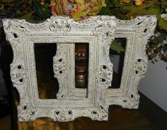 Collectible Pair Of Baroque  Upcycled Vintage by FurnitureFusion, $50.00