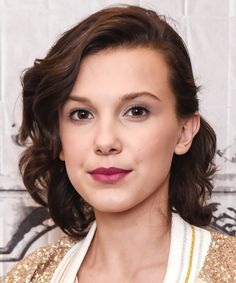 Millie Bobby Brown | We've rounded up our all time favorite long bob haircut looks. These long lob looks will frame any face shape beautifully and are must-tries for this season.