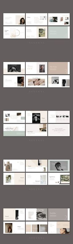 Neutral Keynote Template is a gorgeous presentation to show your project & ideas. This multi-purpose template might help you create effective presentation